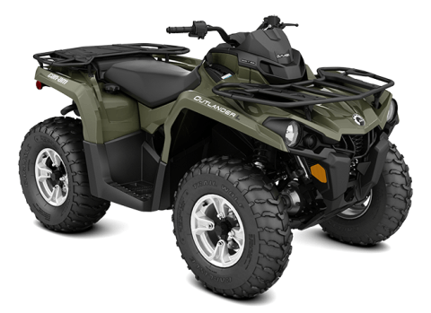 2016 Can-Am Outlander™ L DPS 450 in Canton, Ohio