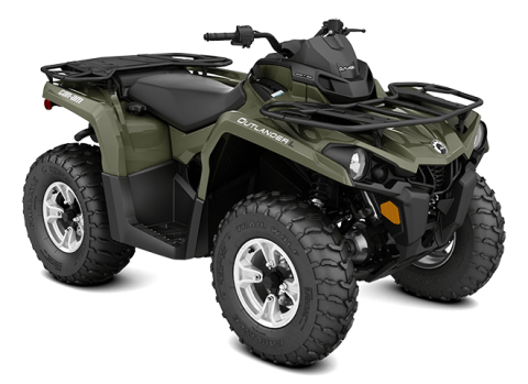 2016 Can-Am Outlander™ L DPS 570 in Las Vegas, Nevada