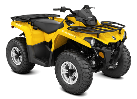 2016 Can-Am Outlander™ L DPS 570 in Johnson Creek, Wisconsin