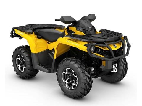 2016 Can-Am Outlander™ XT™ 650 in Derby, Vermont