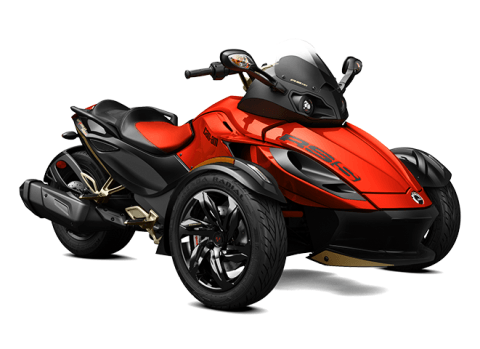 2016 Can-Am Spyder® RS-S SE5 in Zulu, Indiana