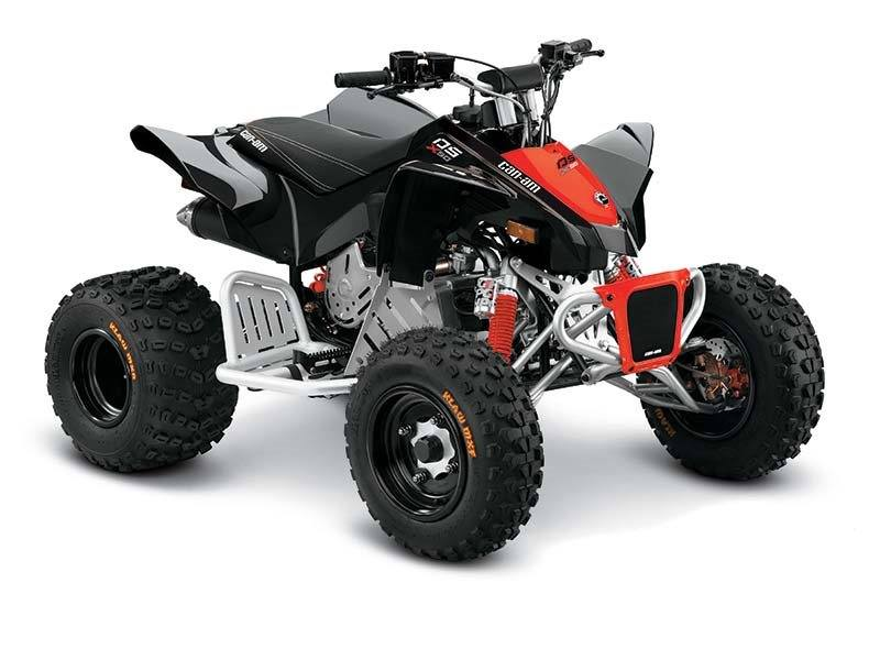 Black / Can-Am Red