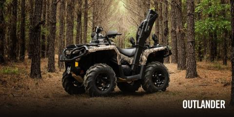 2017 Can-Am Outlander™ DPS™ 650 in Brookpark, Ohio