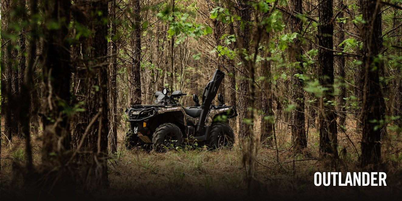 2017 Can-Am Outlander™ MAX DPS™ 570 in Canton, Ohio