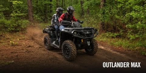 2017 Can-Am Outlander™ MAX XT™ 1000R in Canton, Ohio