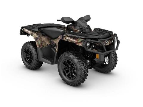 2017 Can-Am Outlander™ XT™ 850 Camo in Fort Myers, Florida