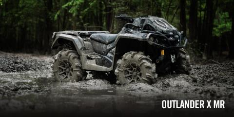 2017 Can-Am Outlander™ X® mr 650 in Canton, Ohio