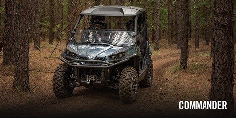 2017 Can-Am Commander™ DPS™ 800R in Brighton, Michigan