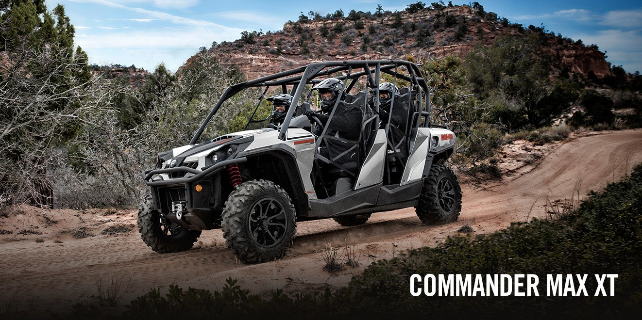 2017 Can-Am Commander™ MAX XT™ 1000 in Brighton, Michigan