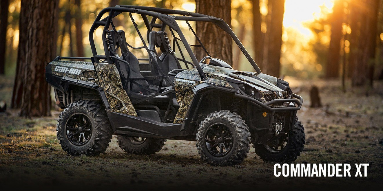 2017 Can-Am Commander™ XT™ 800R in Brighton, Michigan