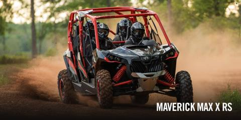 2017 Can-Am Maverick™ MAX X® rs Turbo in Las Vegas, Nevada