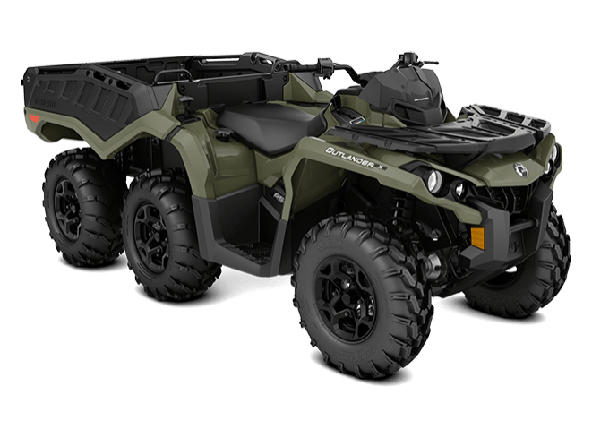 2018 Can-Am Outlander 6x6 DPS in Santa Maria, California