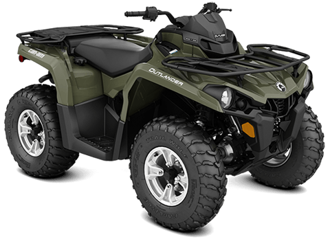 2018 Can-Am Outlander DPS 450 in Santa Maria, California