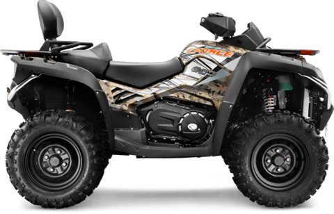 2016 CFMOTO CForce 800 EPS TT Camo in Mitchell, South Dakota