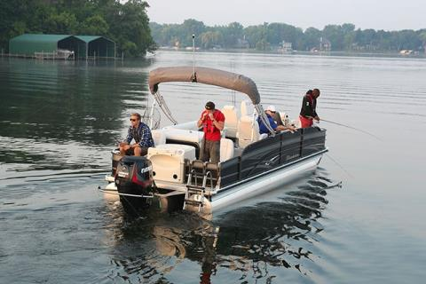 2016 Evinrude E25TESL in Trego, Wisconsin