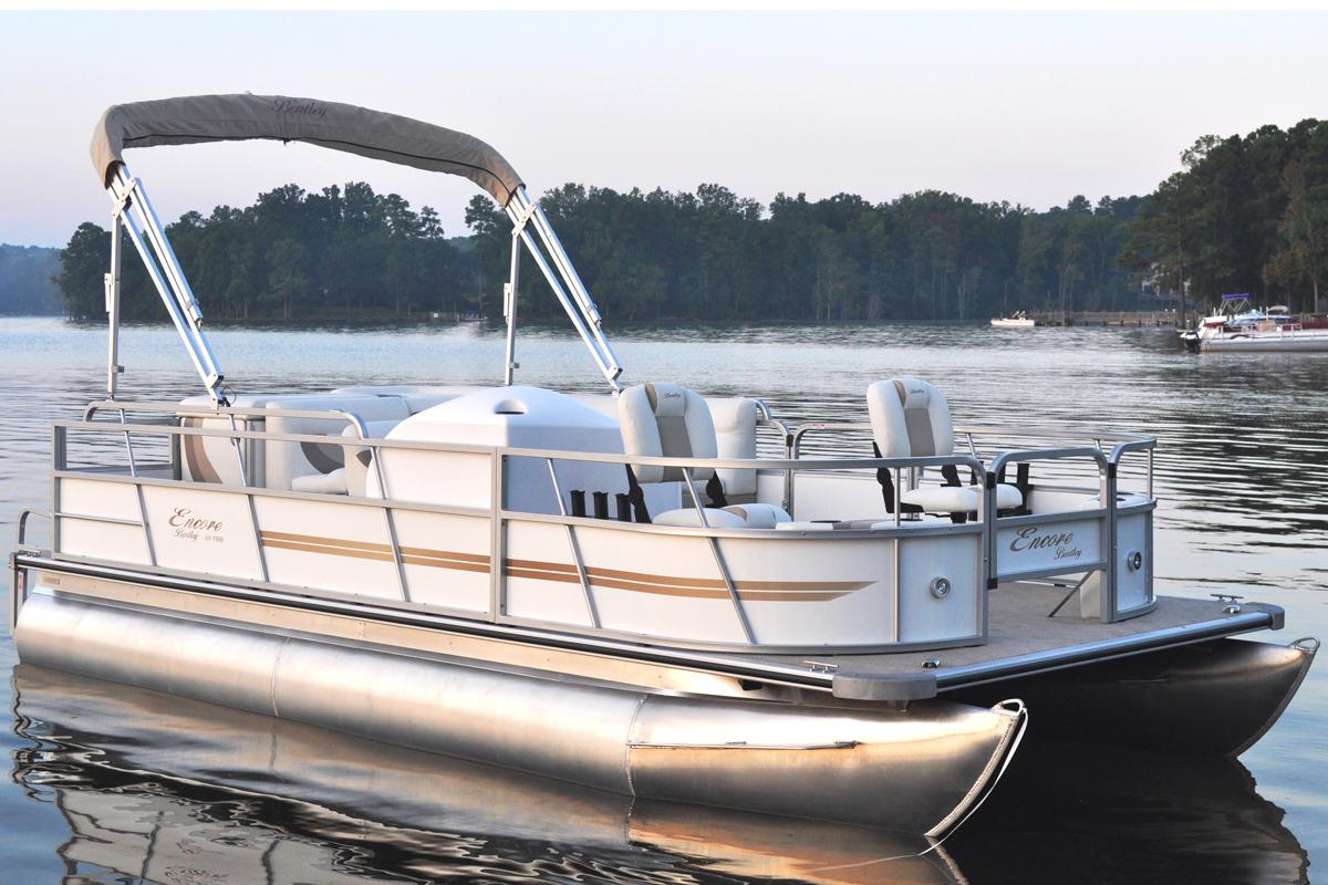 2016 bentley pontoons 200 203 fish power boats outboard for Fishing boat cost