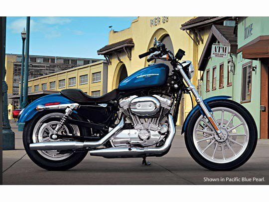 used 2007 harley davidson sportster 883 low motorcycles in new york mills ny stock number. Black Bedroom Furniture Sets. Home Design Ideas