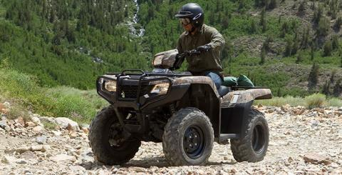 2016 Honda FourTrax® Foreman® 4x4 ES Camo in Greenwood Village, Colorado