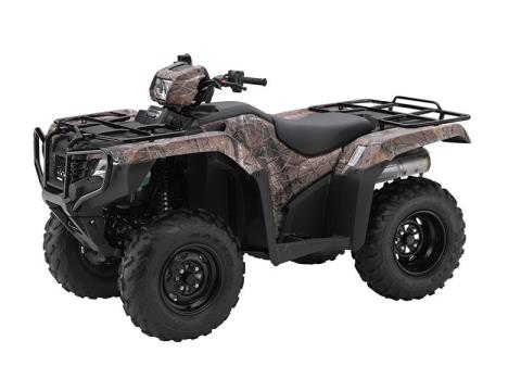 2016 Honda FourTrax® Foreman® 4x4 ES Camo in Lafayette, Louisiana