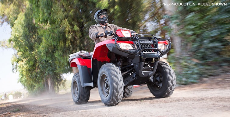 2016 Honda FourTrax® Foreman® Rubicon® 4x4 Automatic DCT EPS Deluxe in Greenwood Village, Colorado