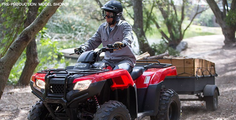 2016 Honda FourTrax® Rancher® 4x4 Automatic DCT Power Steering in Greenwood Village, Colorado