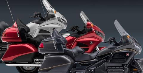 2016 Honda Gold Wing Navi XM ABS in Tarentum, Pennsylvania