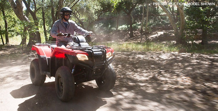 2017 Honda FourTrax® Rancher® 4x4 in Greenwood Village, Colorado