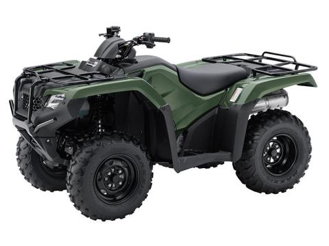 2017 Honda FourTrax® Rancher® 4x4 ES in Pasadena, Texas
