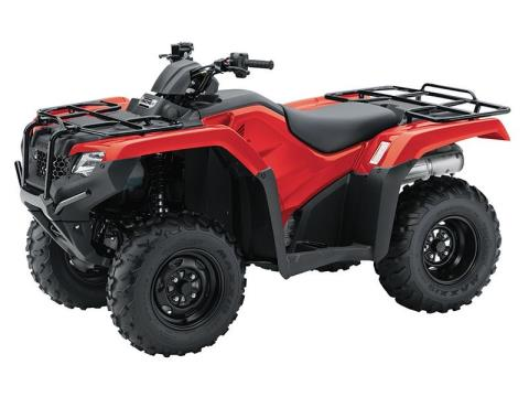 2017 Honda FourTrax® Rancher® 4x4 ES in Spencerport, New York
