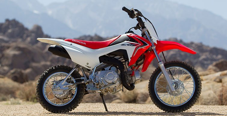 2017 Honda CRF®110F in Canton, Ohio