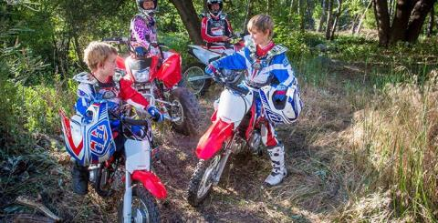 2017 Honda CRF®50F in Corona, California