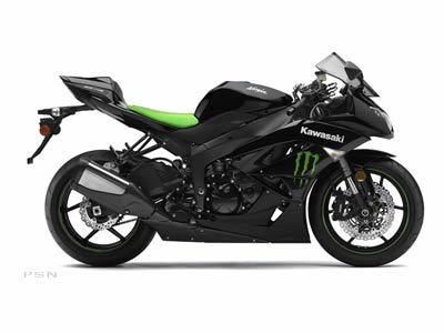 2009 Kawasaki Ninja® ZX™-6R Monster Energy® in Flagstaff, Arizona