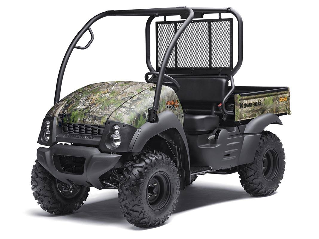 New 2016 kawasaki mule 610 4x4 xc camo utility vehicles for Motor vehicle department las cruces nm