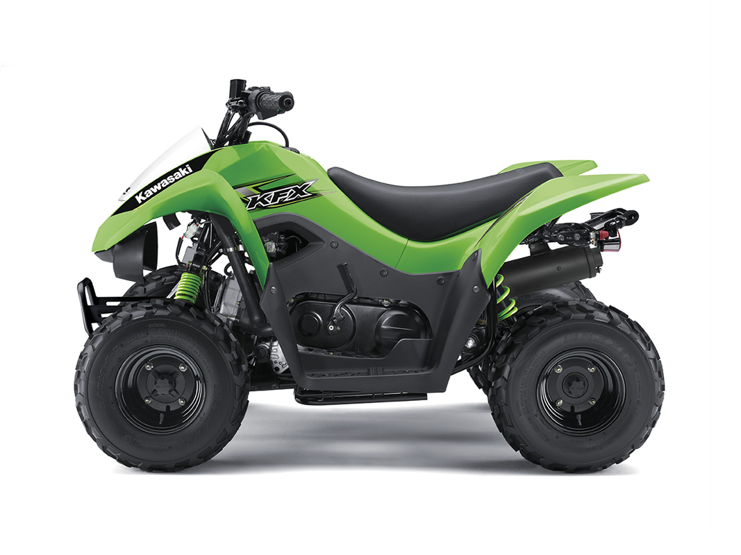 new 2017 kawasaki kfx 50 atvs in franklin oh. Black Bedroom Furniture Sets. Home Design Ideas
