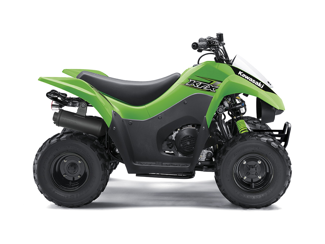new 2017 kawasaki kfx 50 atvs in salinas ca. Black Bedroom Furniture Sets. Home Design Ideas
