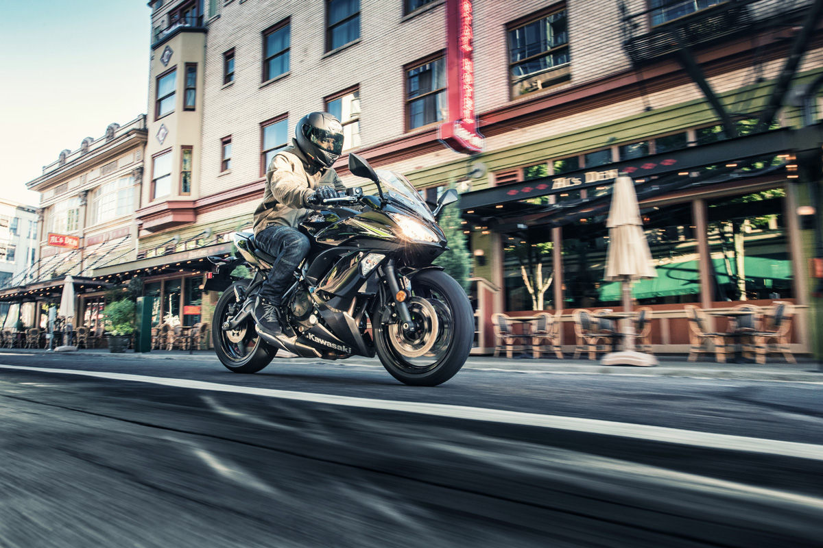 2017 Kawasaki Ninja® 650 in Greenwood Village, Colorado