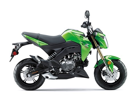 2017 Kawasaki Z125 Pro in Escondido, California