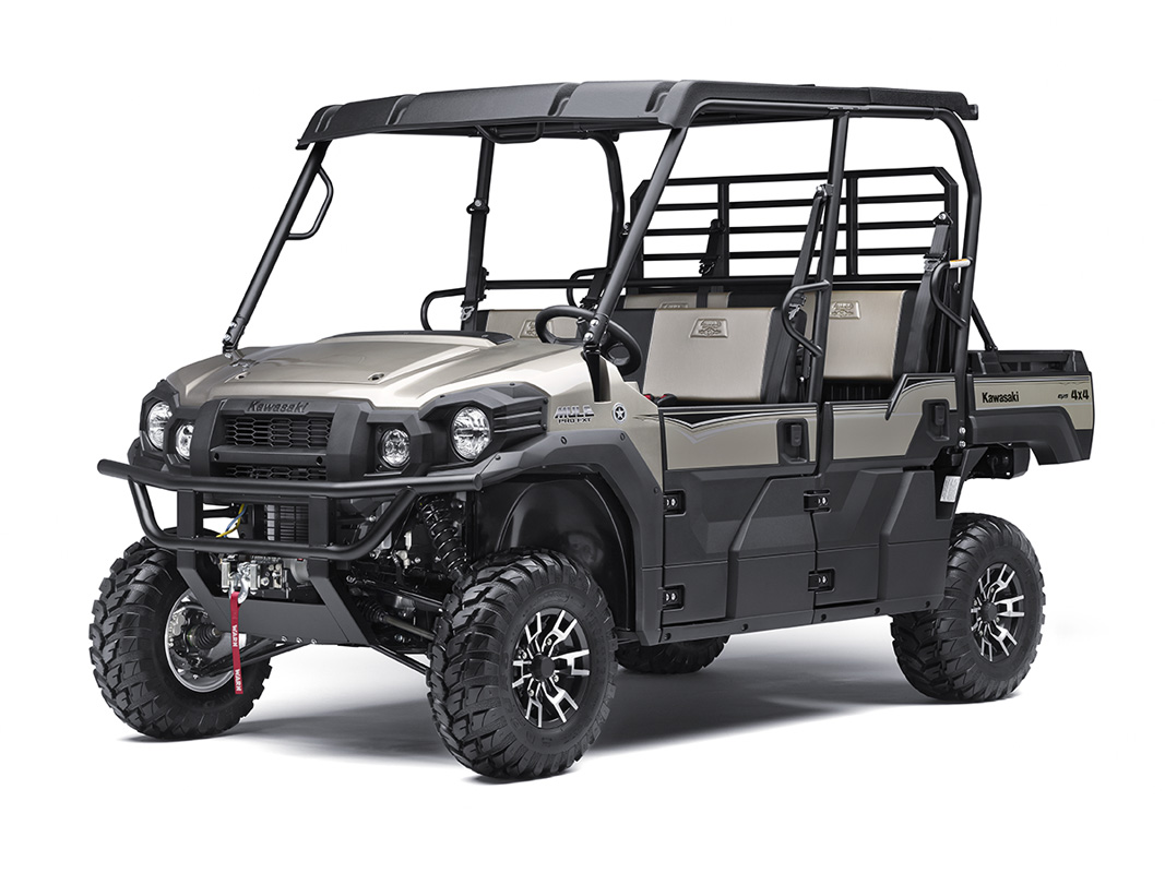 2017 Kawasaki Mule PRO-FXT™ Ranch Edition in Clearwater, Florida
