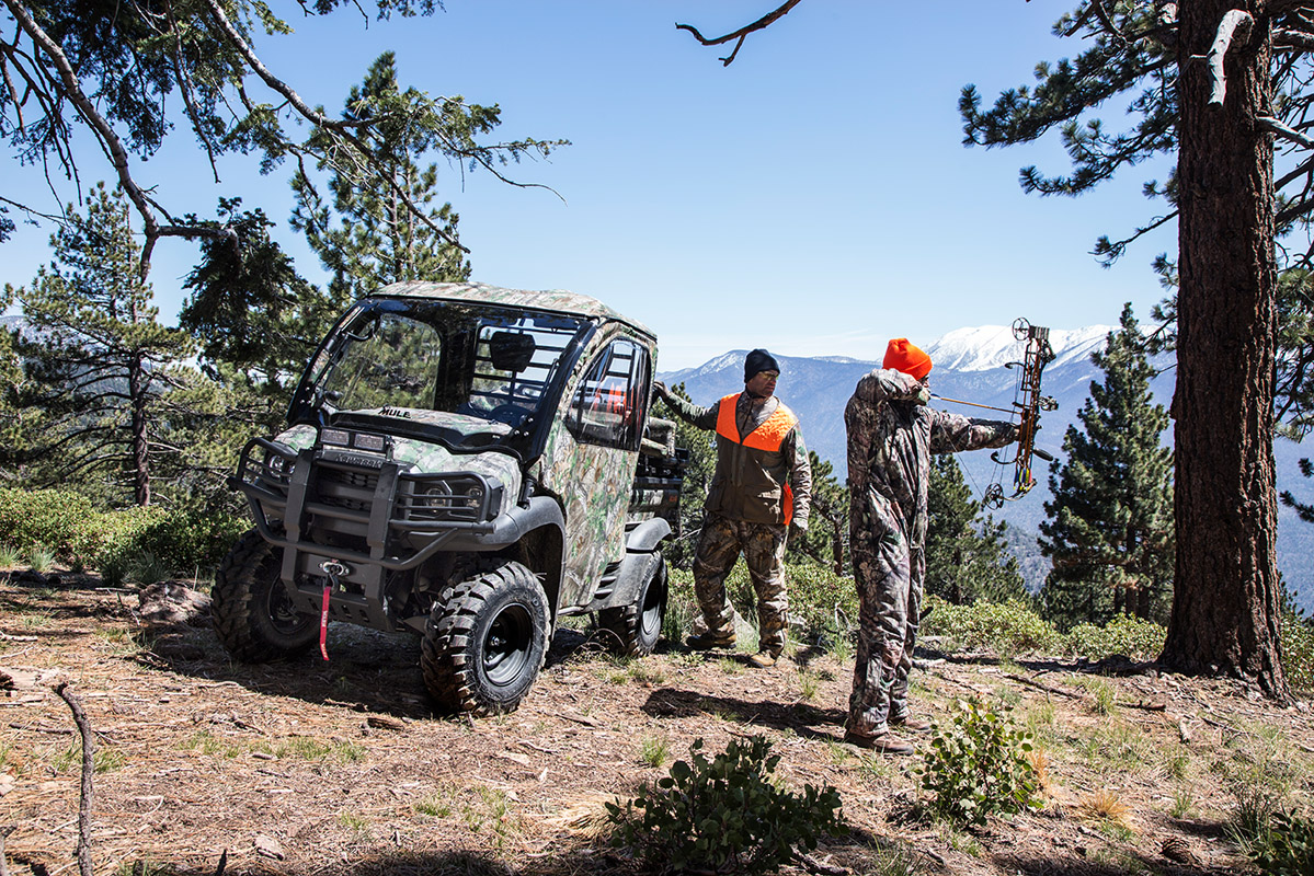 2017 Kawasaki Mule SX™ 4x4 XC Camo in Greenwood Village, Colorado
