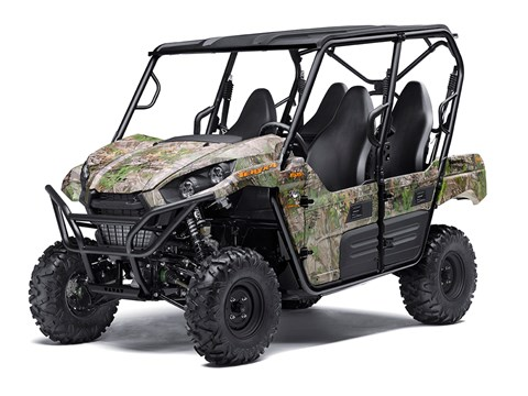 2017 Kawasaki Teryx4™ Camo in Mount Pleasant, Michigan