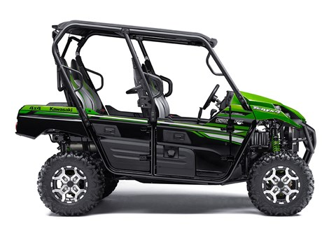 2017 Kawasaki Teryx4™ LE in Mount Pleasant, Michigan