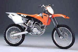 2001 KTM 400 SX in Florence, Oregon