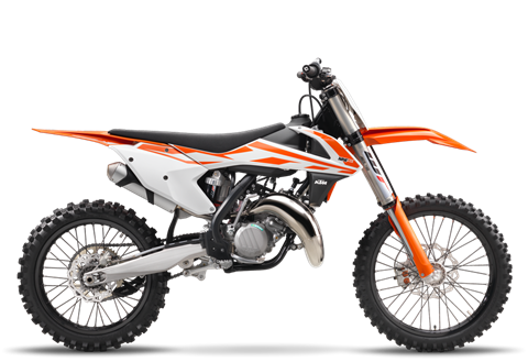2017 KTM 125 SX in Johnson Creek, Wisconsin