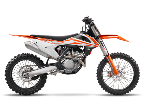 2017 KTM 250 SX-F in Johnson City, Tennessee