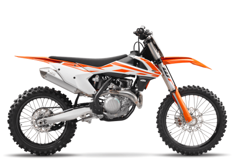 2017 KTM 450 SX-F in Johnson City, Tennessee