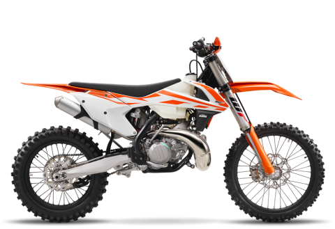 2017 KTM 250 XC in Baldwin, Michigan