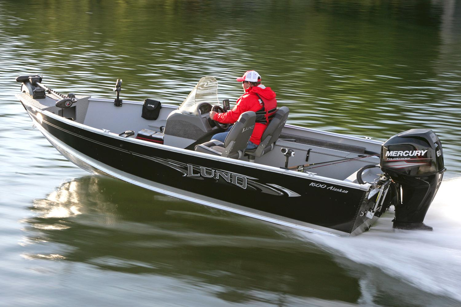 New 2016 Lund 1600 Alaskan SS Power Boats Outboard in Lapeer, MI ...