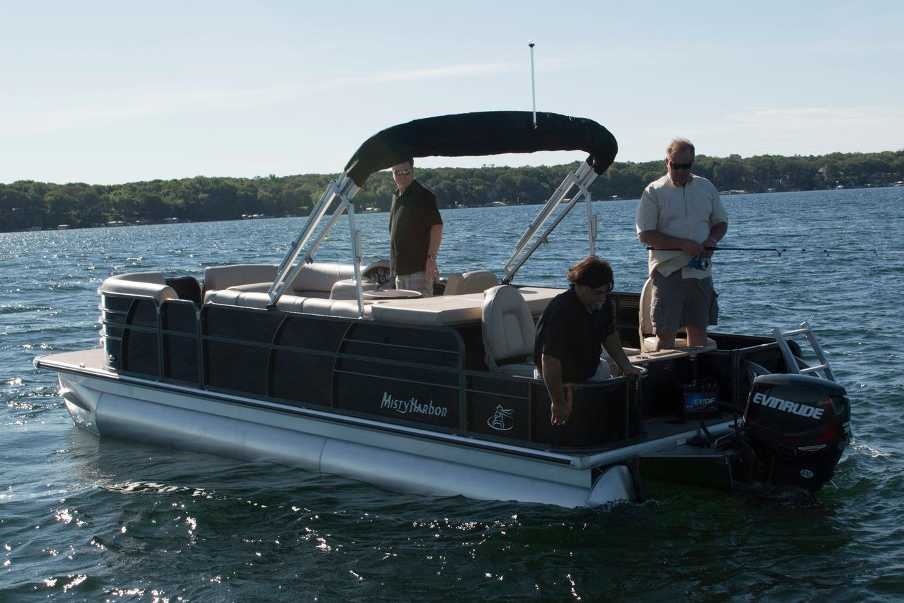 2016 Misty Harbor 2085 Biscayne Bay RF in Trego, Wisconsin
