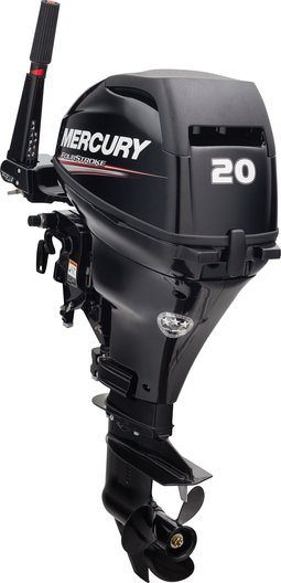 2015 Mercury Marine 20 hp FourStroke 20 in Shaft in South Windsor, Connecticut