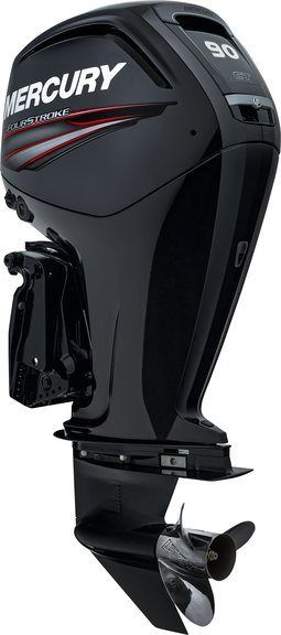 2015 Mercury Marine 90 hp Command Thrust FourStroke 25 in Shaft in South Windsor, Connecticut